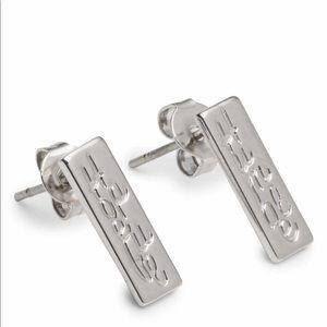 Iokai humble / hopeful combo earrings
